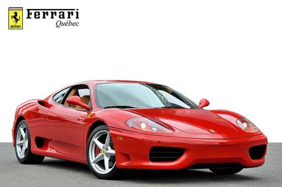 Buying A Ferrari 360 From Ferrari Quebec In Montreal Canada